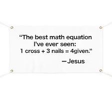Best Math Equation Banner
