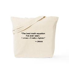 Best Math Equation Tote Bag