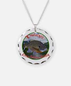 Daddys fishing buddy Necklace