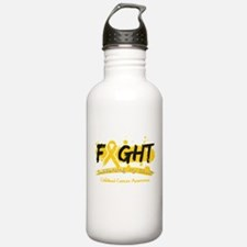 Fight Childhood Cancer Cause Water Bottle
