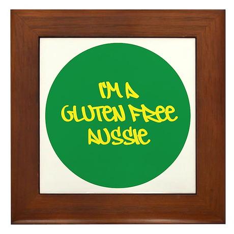 Gluten Free Aussie Framed Tile