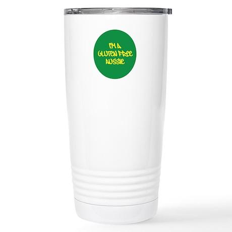 Gluten Free Aussie Stainless Steel Travel Mug