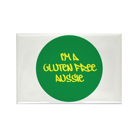 Gluten Free Aussie Rectangle Magnet (100 pack)