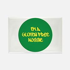 Gluten Free Aussie Rectangle Magnet