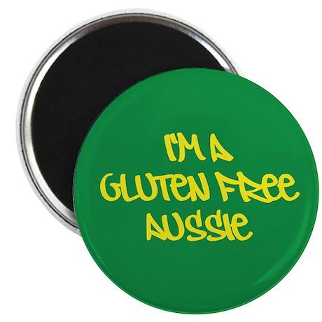 """Gluten Free Aussie 2.25"""" Magnet (10 pack)"""