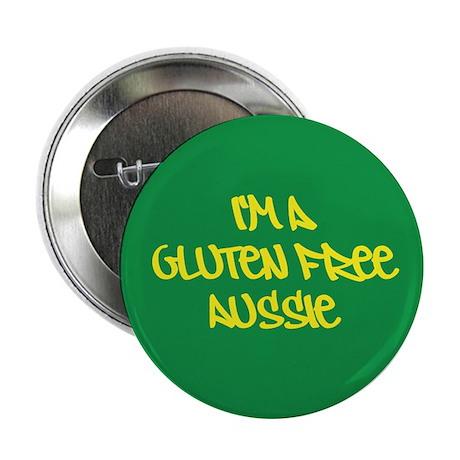 """Gluten Free Aussie 2.25"""" Button (100 pack)"""
