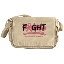 Fight Breast Cancer Cause Messenger Bag