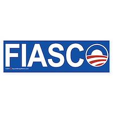 Fiasco Anti-Obama Bumper Bumper Sticker