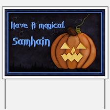 Samhain Halloween Yard Sign