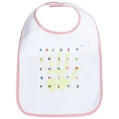 OYOOS Alphabets design Bib
