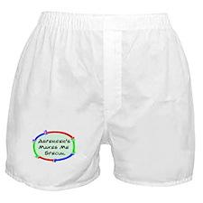 Cute Brain disorder disability Boxer Shorts