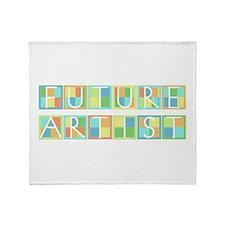 Future Artist Throw Blanket