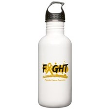 Fight Appendix Cancer Cause Water Bottle