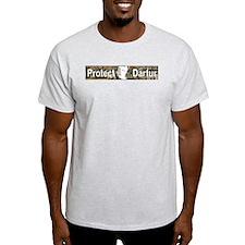Protect Darfur Ash Grey T-Shirt