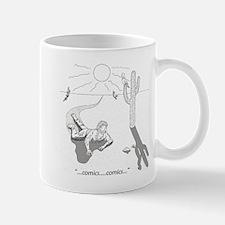 Comic Book Desert Mug