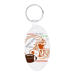 OYOOS Football Sports design Keychains