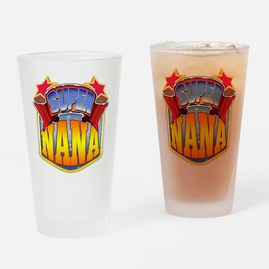 Super Nana Drinking Glass