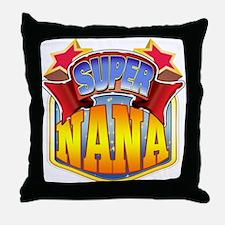 Super Nana Throw Pillow