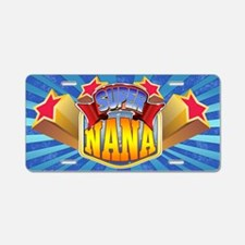 Super Nana Aluminum License Plate