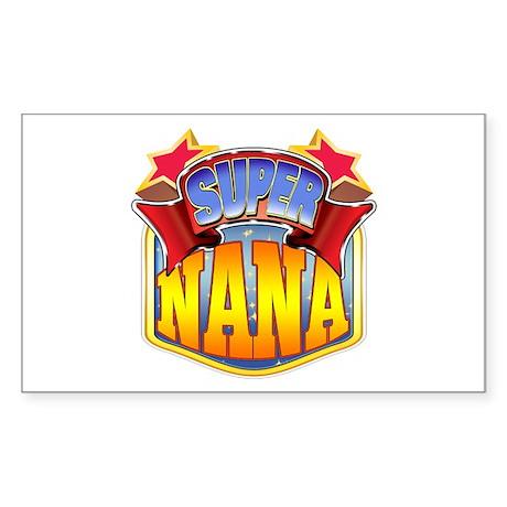 Super Nana Sticker (Rectangle)