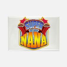 Super Nana Rectangle Magnet
