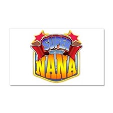 Super Nana Car Magnet 20 x 12