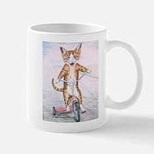 Kitten on Tricycle Mug