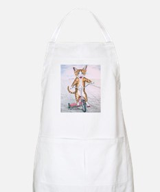 Kitten on Tricycle BBQ Apron