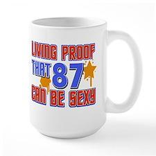 Cool 87 year old birthday design Mug