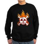 NO NUKES! Sweatshirt (dark)
