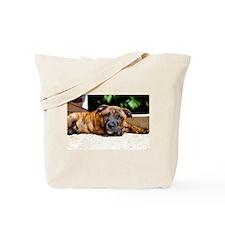 Unique Staffie Tote Bag