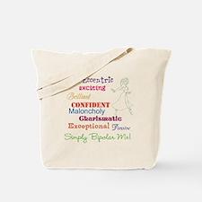Simply Bipolar Me Tote Bag