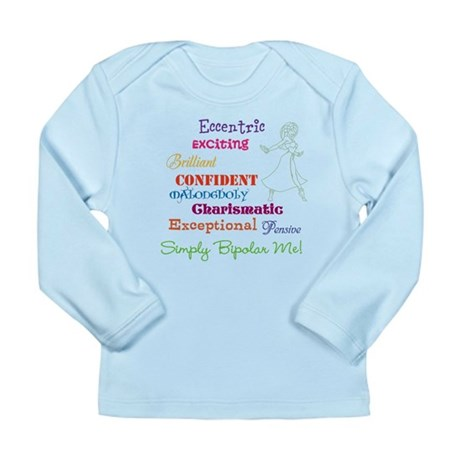 Simply Bipolar Me Long Sleeve Infant T-Shirt