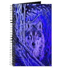 Night Warrior Wolf Journal