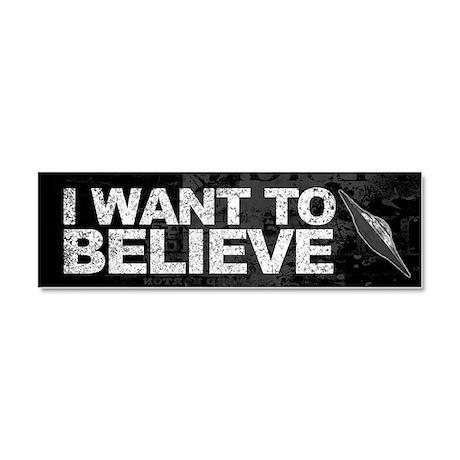 Believer Car Magnet 10 x 3