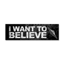 Believer Car Magnet 10 x 3