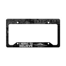 Believer License Plate Holder