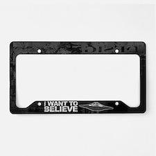 Believer License Plate Holder
