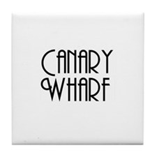Unique Canary wharf Tile Coaster