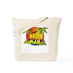 Best Man Tote Bag