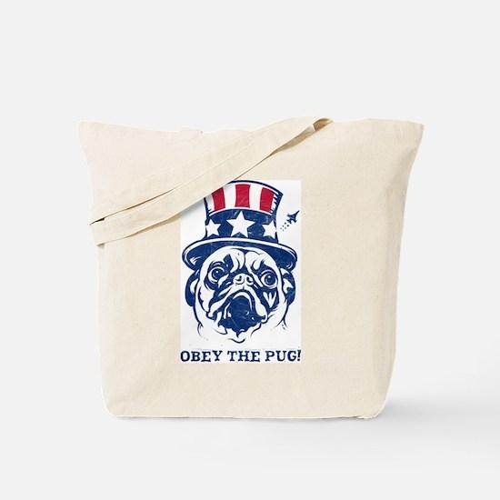 American PUG Revolution Tote Bag