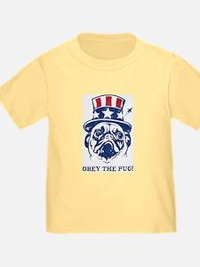 PUG USA Toddler Freedom T-Shirt