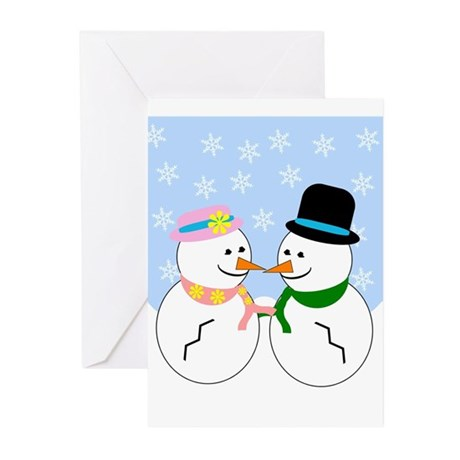 Snowman Greeting Cards (Pk of 10)