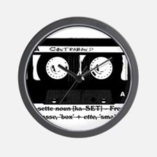 Cassette - History Wall Clock