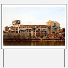Neyland Stadium Yard Sign