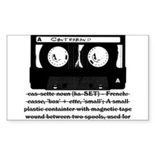 Cassette - Definition Decal