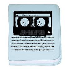 Cassette - Definition baby blanket