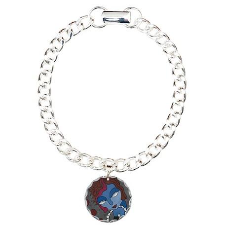 Gothling Charm Bracelet, One Charm