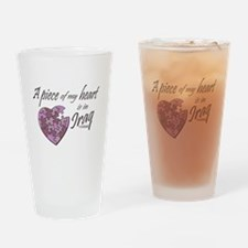 Piece of my Heart Drinking Glass