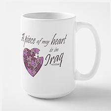 Piece of my Heart Large Mug